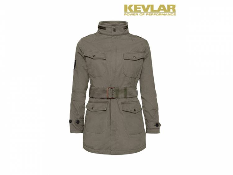 Womens Kevlar Field Jacket Olive-jd00019