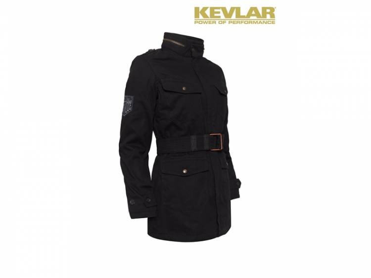 Womens Kevlar Field Jacket Black-jd00021