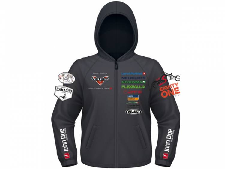 Grizzly Race Team Kevlar Softshell Jacket Hoodie-jd00025